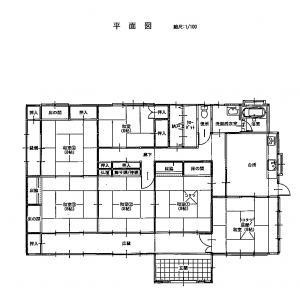 『未来の担い手住宅平面図』の画像